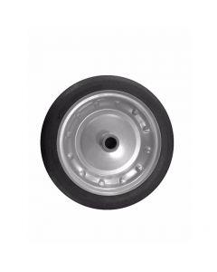 Rueda maciza 12x3, es un nuevo tipo de rueda libre plana, la rueda está sin el tubo interno, y el neumático es completado con aire, puede trabajar como amortiguador. Uso agrícola, doméstico e industrial.