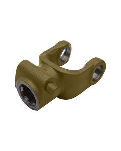 Horquilla estriada con pulsador T-4, ideal como repuesto para cardán modelo T-4. Uso agrícola.