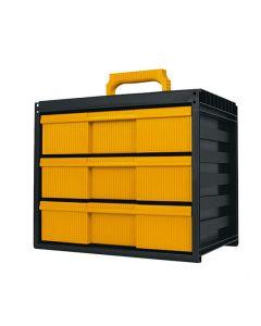 Caja organizadora modular de 3 cajones