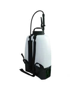 Pulverizador de mochila Eléctrico 16 Litros, seguro y altamente eficiente. Batería recargable de Litio de 12V. Puede utilizarse para el cuidado del jardín, huertos, huertos de frutas e invernaderos.