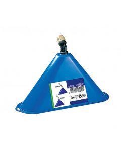 Campana para lanzas de cobre o resina, de equipos de pulverización. Incluye boquilla abanico.