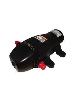 Bomba diafragma de 3.8 l/min de caudal, 35 Psi de presión y potencia eléctrica de 12 V.