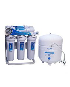 Purificador de Agua Osmosis Inversa TEXXEL B-50. 5 Etapas. Manómetro medidor de trabajo. Membrana Osmosis Inversa. Recambios