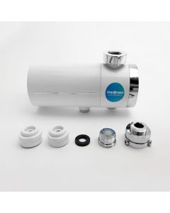 Filtro para llave con tecnología de separación de membrana de ultrafiltración que elimina sedimentos, óxido, bacterias, coloides, algas, materia orgánica macromolecular y otras sustancias dañinas.