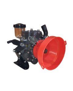 Bomba far-81 40 bar para cardán, especialmente diseñada para la dosificación de todo tipo de productos químicos, ideal para aplicaciones de tratamientos en el área de la agricultura y procesos industriales.