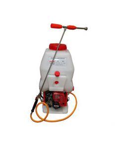 Motopulverizador 20 litros con lanza, es un equipo fundamental para el control de plagas y la fertilización de cultivos agrícolas.