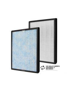 Pack filtros purificador Humidificador Wolken.  Filtro Hepa. Compatible con el equipo Purificador Humificador H2O.